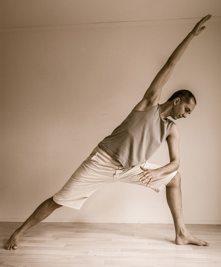 Neal Ghoshal, Side Angle Pose